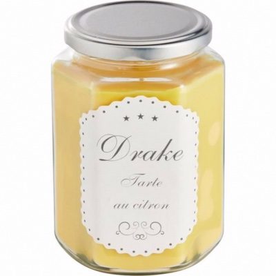 Bougie DRAKE collection Gourmande Tarte au Citron