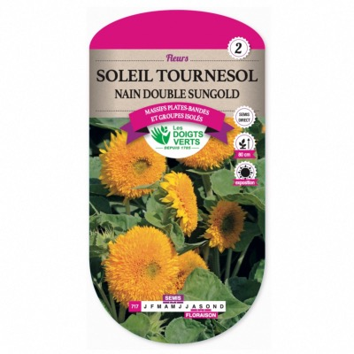 Graines Soleil Nain Double Sungold - Les Doigts Verts