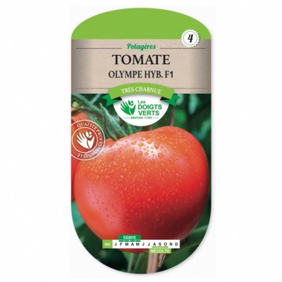 Graines Tomate olympe hyb. F1, Les Doigts Verts