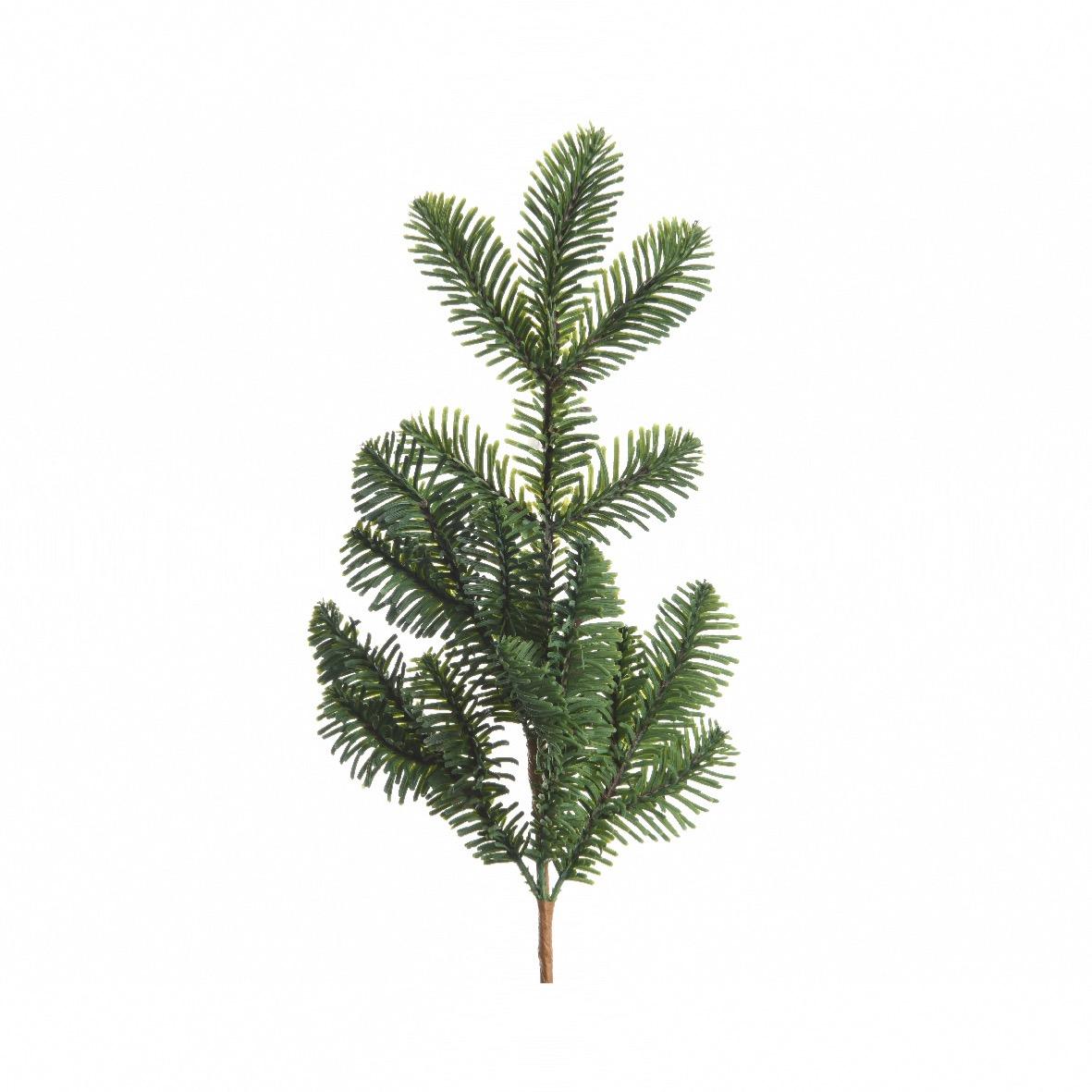 Branche De Sapin Artificiel Couleur Vert Nordmann 45 Cm