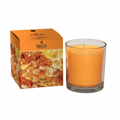 Bougie Parfumée Ambre - Price's Candles