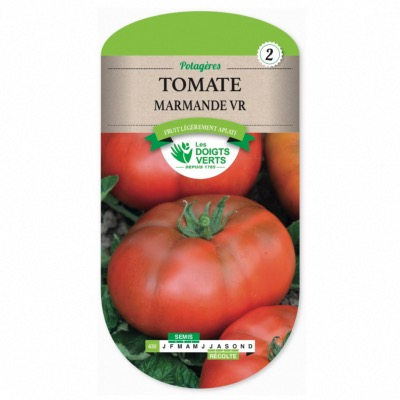 Graines Tomate Marmande - Les Doigts Verts